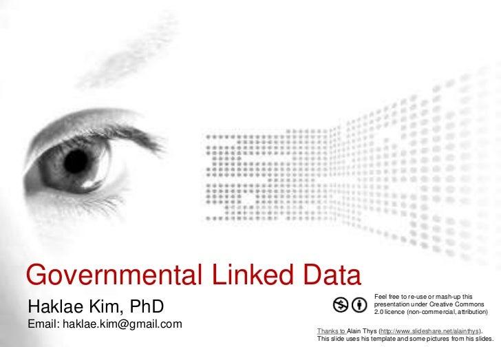 Governmental Linked Data