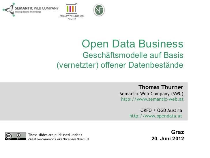 Open Data Business