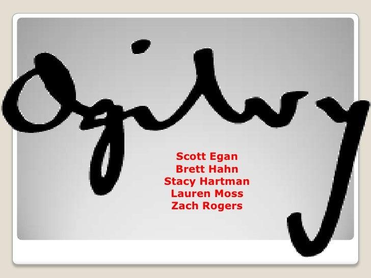 Scott Egan<br />Brett Hahn<br />Stacy Hartman<br />Lauren Moss<br />Zach Rogers<br />