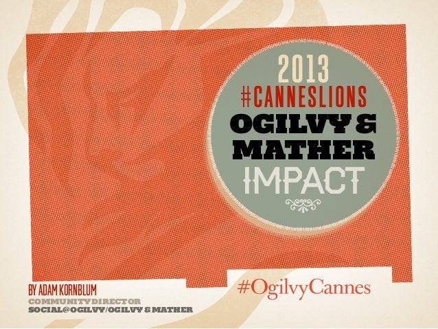 Ogilvycannessocialmediareport