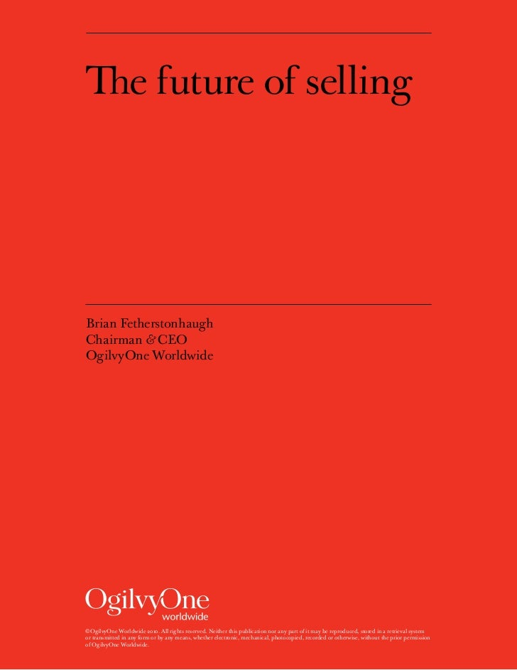 The Future of Selling - white paper