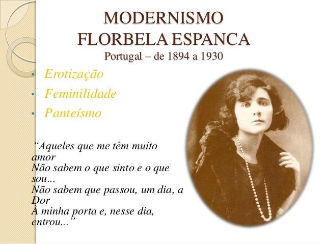 Florbela Espanca modernismo em portugal