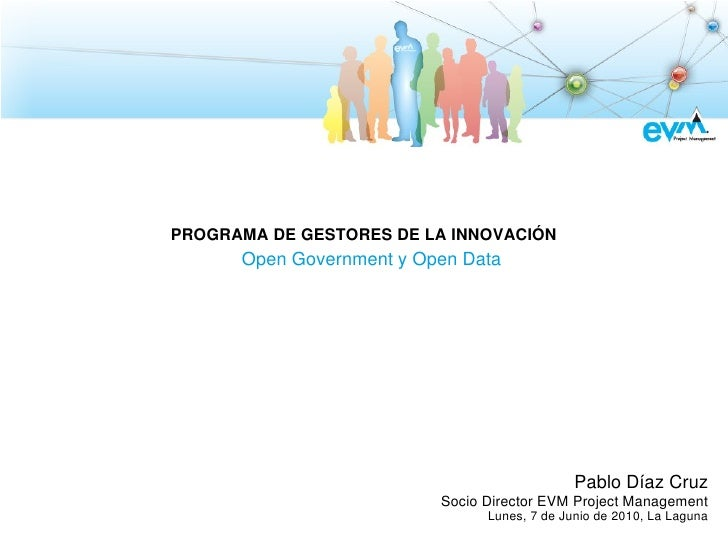 Open Government y Open Data