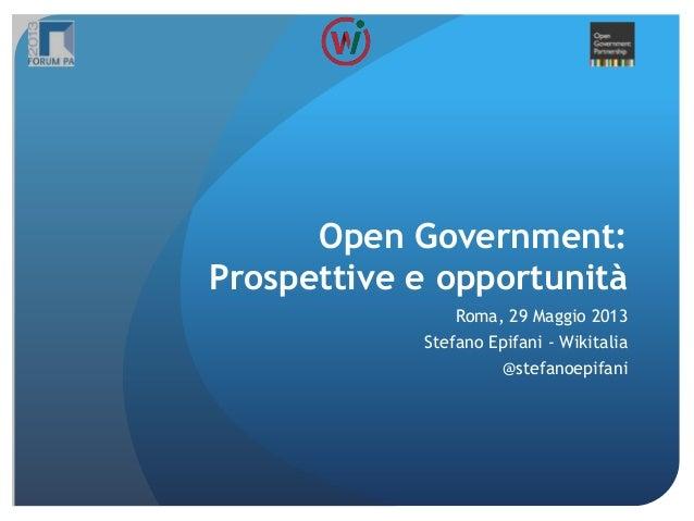 Open Government Partnership: Il rapporot tra Istituzioni e Società Civile, la criticità italiana