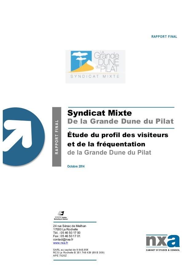 24 rue Sénac de Meilhan 17000 La Rochelle Tél. : 05 46 50 17 00 Fax : 05 46 50 17 01 contact@nxa.fr www.nxa.fr SARL au cap...