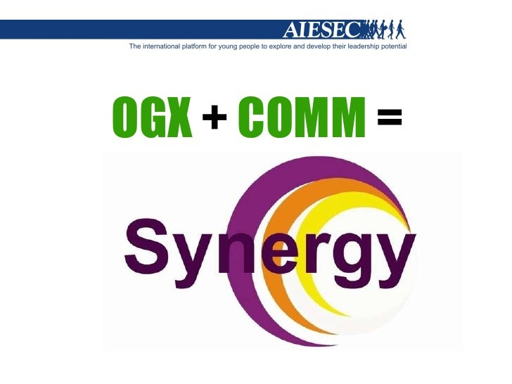 Ogx + comm training for aiesec kyiv