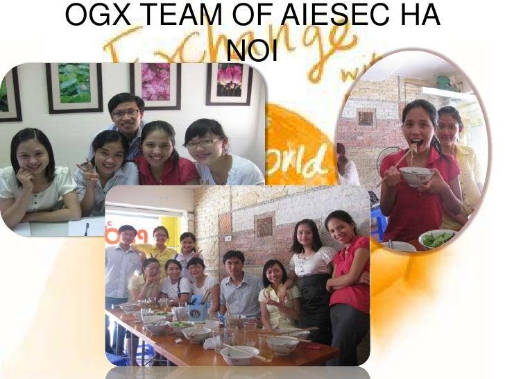 OGX TEAM OF AIESEC HA NOI<br />