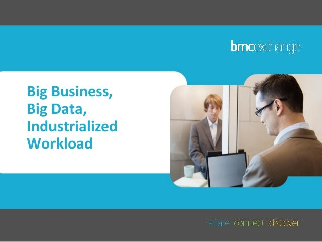 Big Business, Big Data, Industrialized Workload