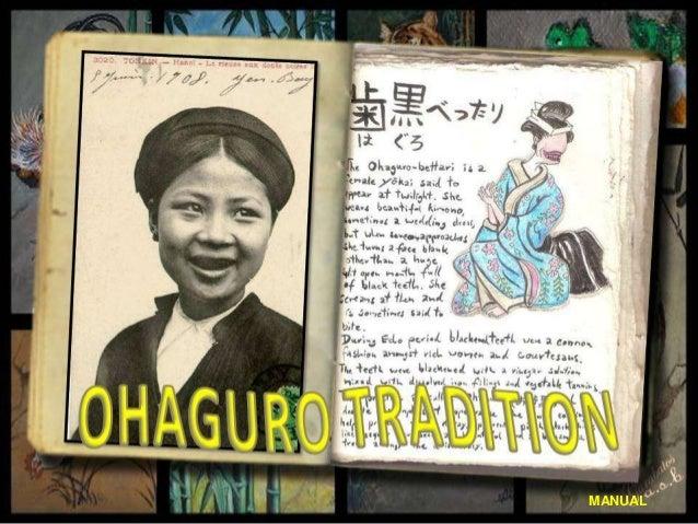 Ohaguro Tradition