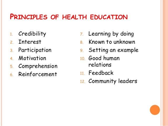 essay on health education