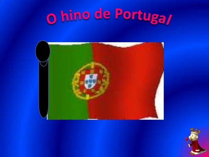 O hino de portugal
