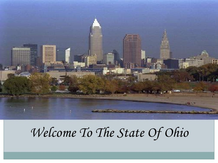 atWelcome To The State Of Ohio