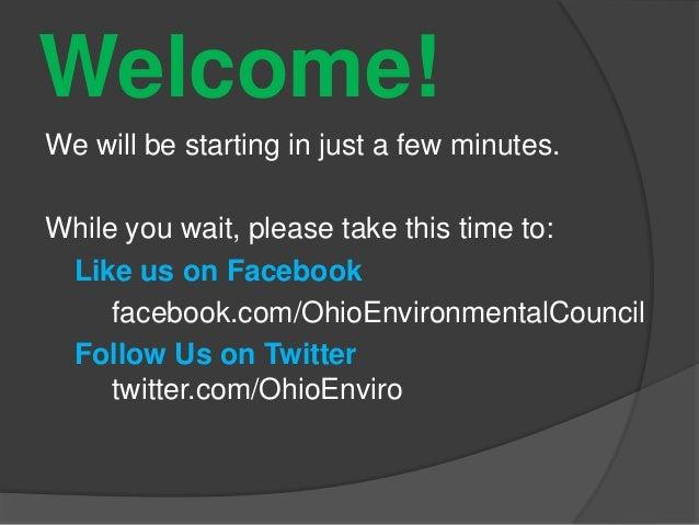 Ohio clean energy standard under threat Webinar (April 18, 2013)