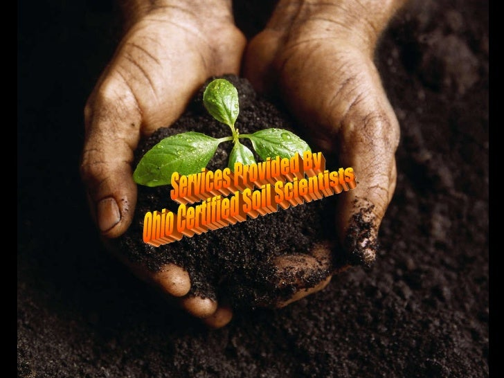 Services Provided By Ohio Certified Soil Scientists