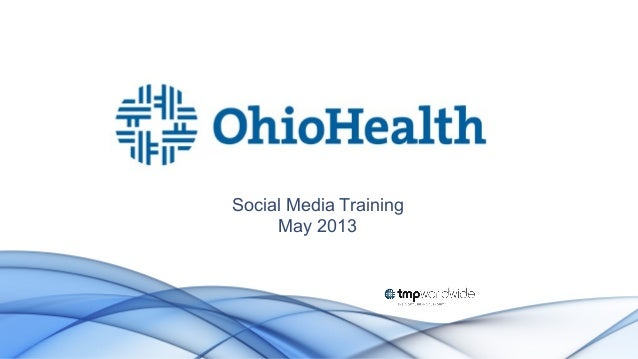 Ohiohealth social-training