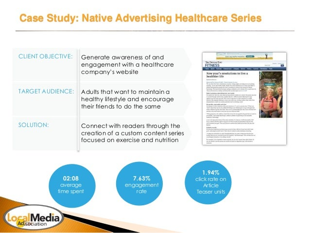 advertising case study sample