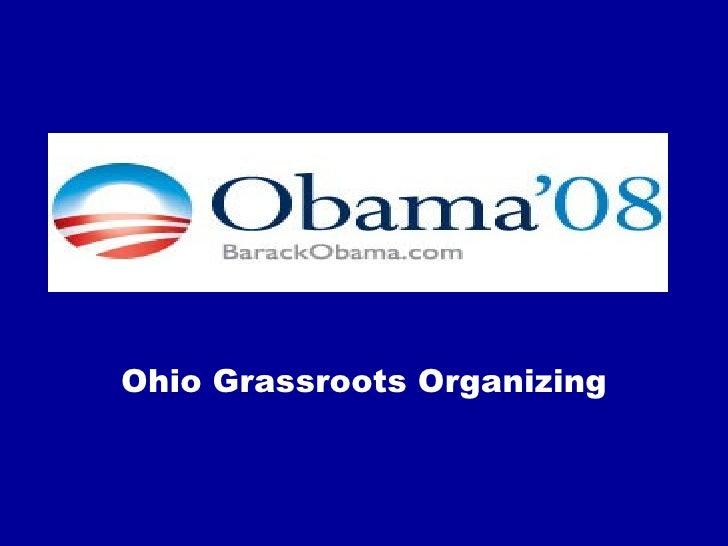 Ohio Grassroots Organizing