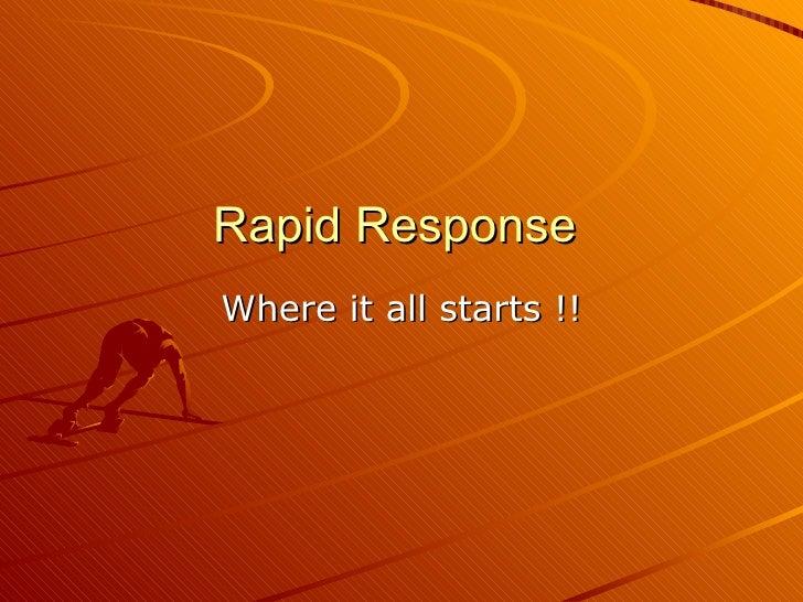 Ohio rapid response  mass