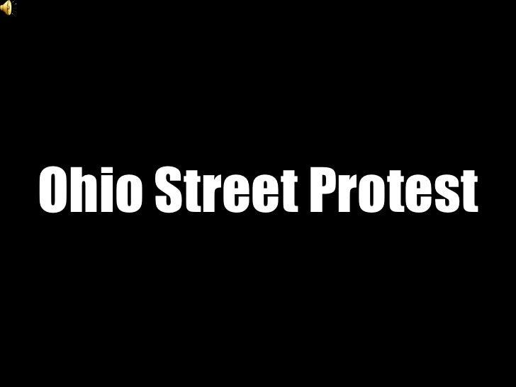 Ohio Street Protest<br />