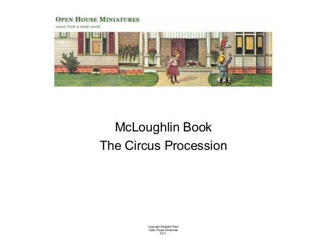 McLoughlin Book The Circus Procession