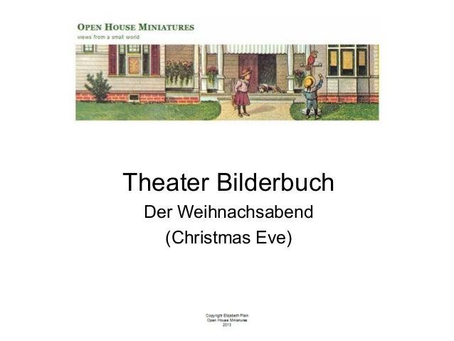 Miniature Theater Bilderbuch - Christmas Scene Only