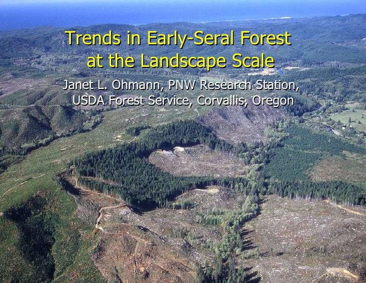 Janet L. Ohmann - Trends in Early Seral Forest at the Stand and Landscape Scale