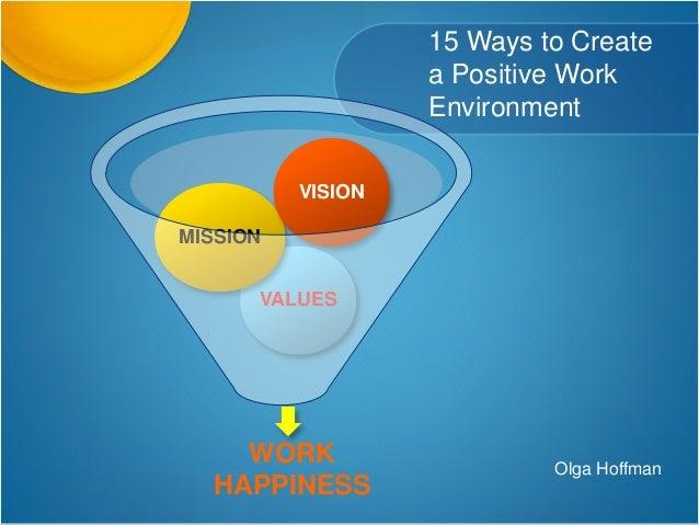 Ways to create positive thinking