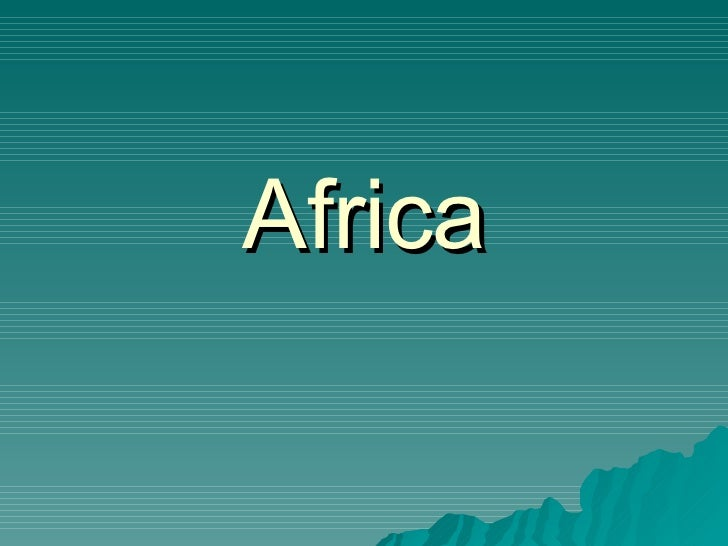 Ohms Africa Unit