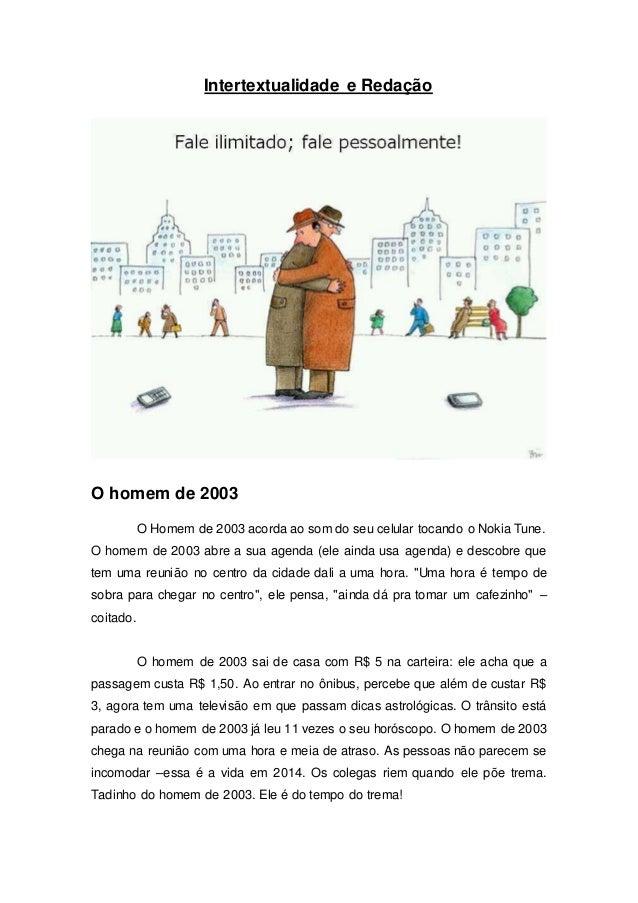 O homem de 2003