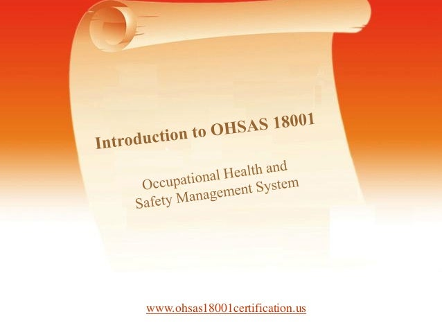 Information About OHSAS 18001