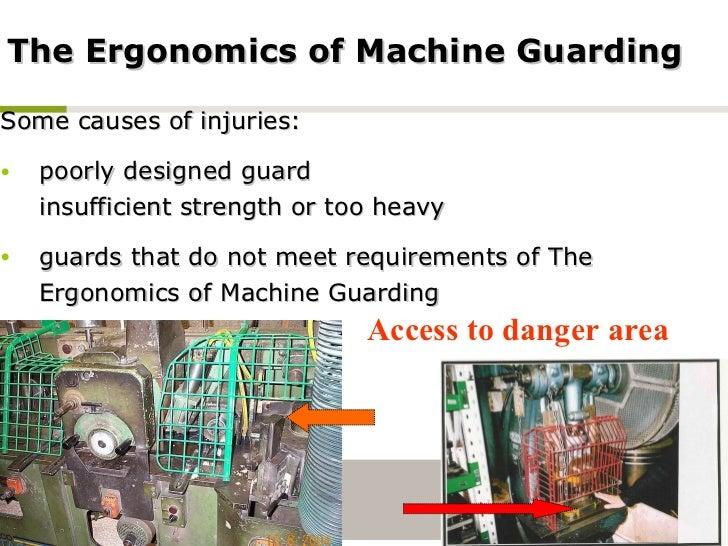 machine injuries