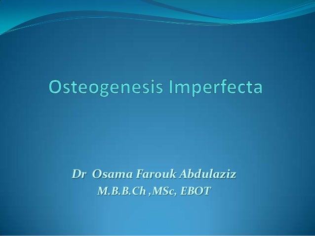 Dr Osama Farouk AbdulazizM.B.B.Ch ,MSc, EBOT