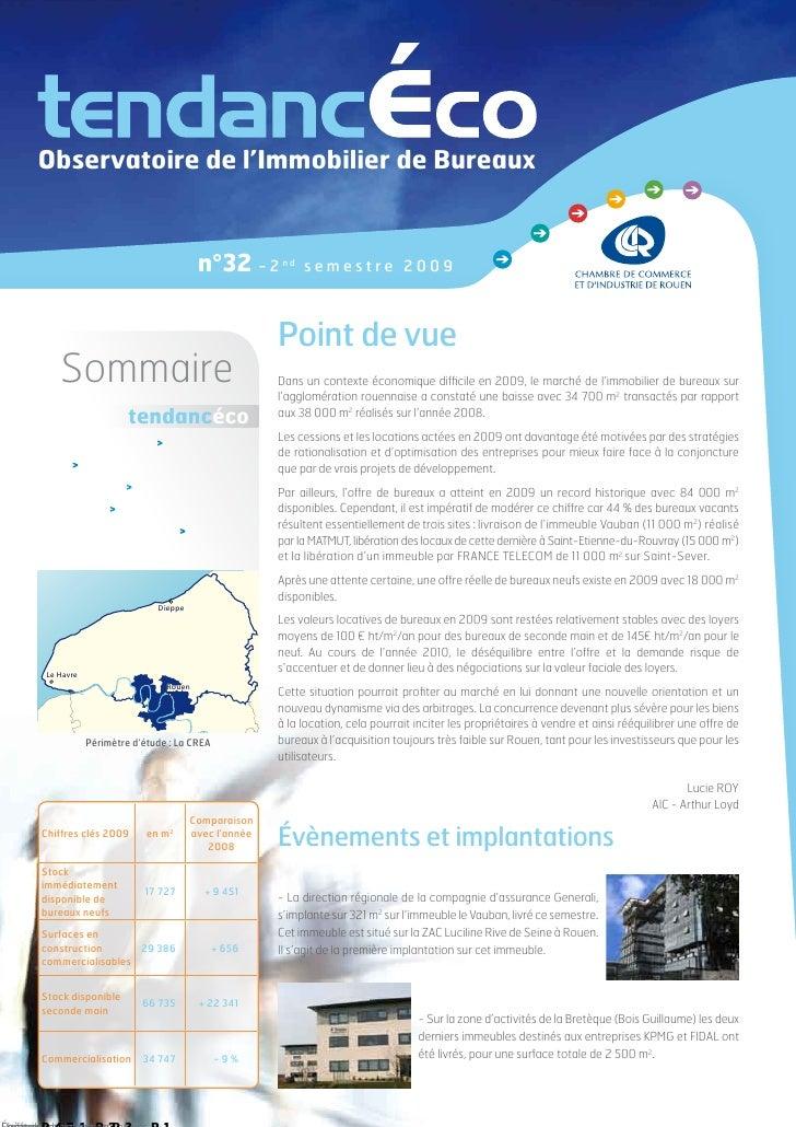 Observatoire de l'Immobilier de Bureaux                                    n°32 - 2       nd                              ...
