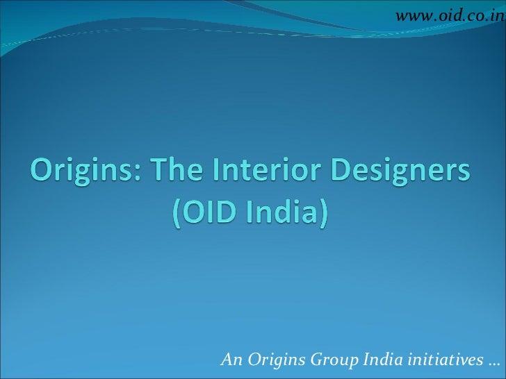 Origins Interior Designers