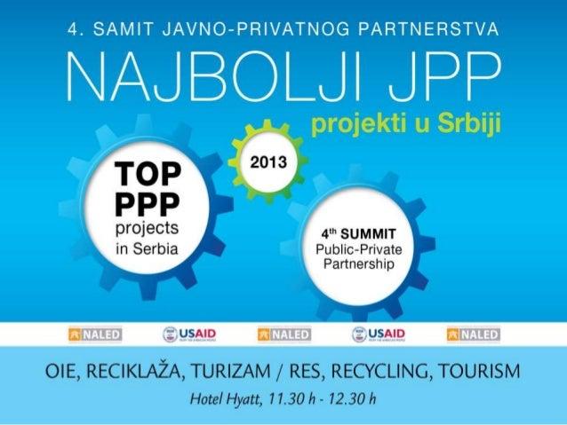 Najbolji JPP projekti: OIE, reciklaža, turizam - Raška, Nova Varoš, Zrenjanin