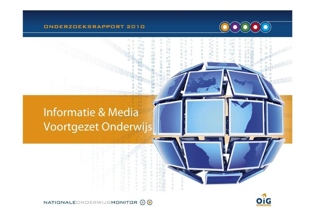 OIG rapport informatie en media_vo_v1.0