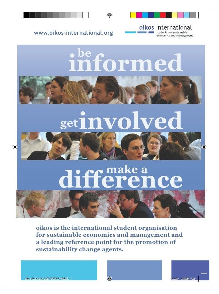 www.oikos-international.org                                         be                                informed            ...
