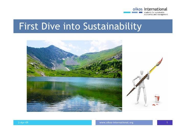 Kate on Sustainability