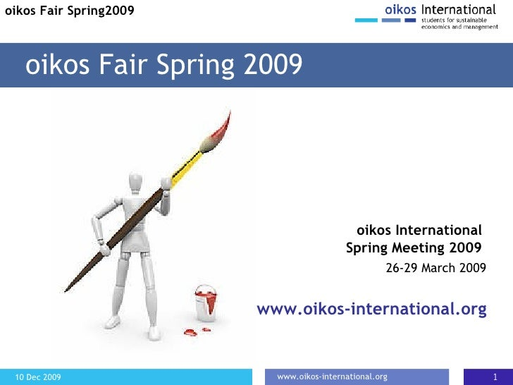 Kate at oikos Fair