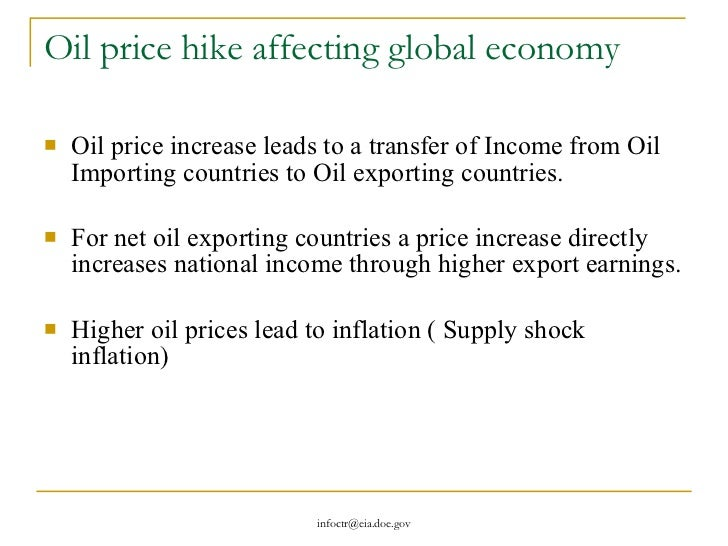causes and effects of fluctuation in oil price Effect of declining oil prices on oil exporting countries  a major cause in seven out  the impact of oil prices fluctuations on oil importing countries .