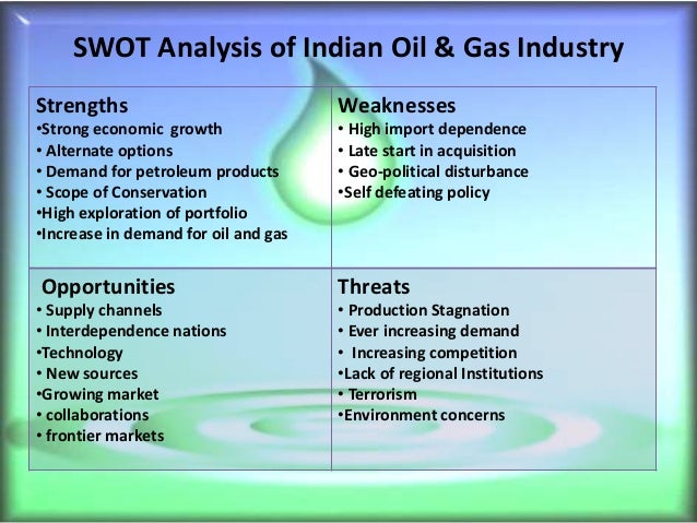 swot analysis india natural gas market Assignment writing help on swot analysis of insurance industry in india  india insurance industry swot  retail india ratio analysis of oil and natural gas.