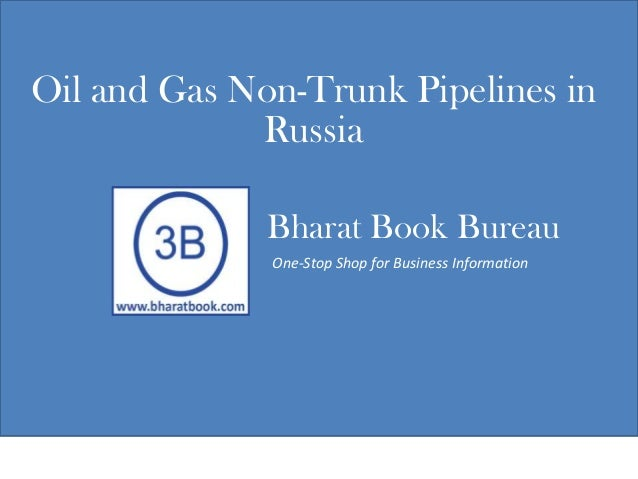 Oil and gas non trunk pipelines in russia