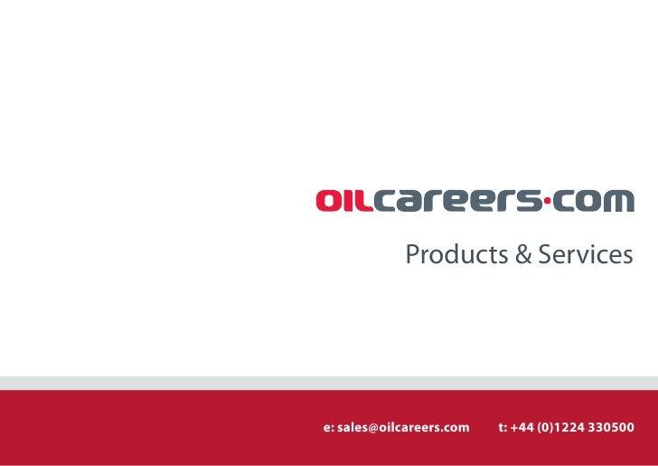 Oil Careers Media Pack