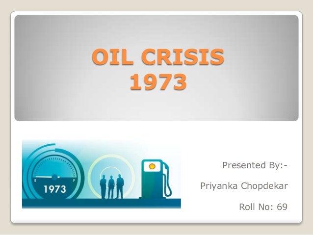 1973 oil crisis essay