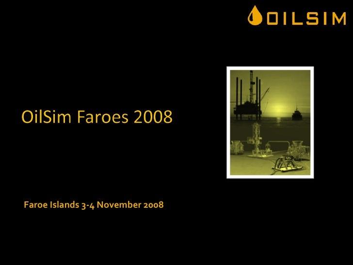Oil Sim Exploration Faroes