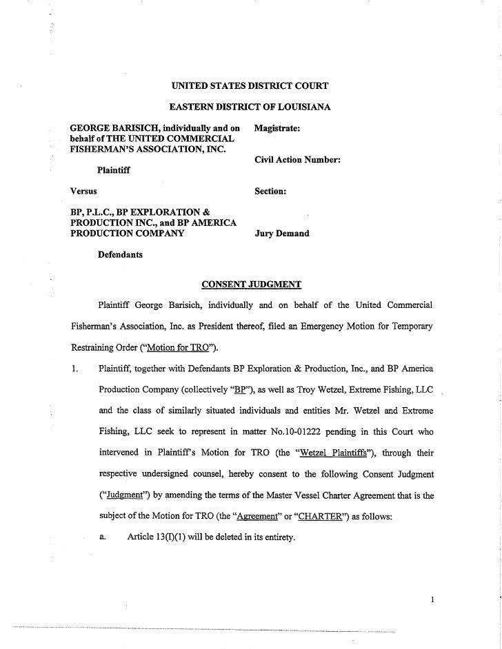 Alabama Lawyer Oil Spill Lawsuit