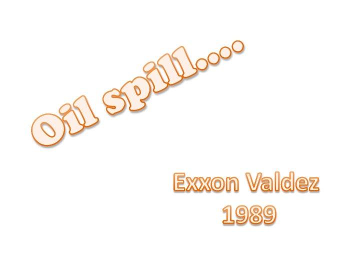 Oil spill biology acmb