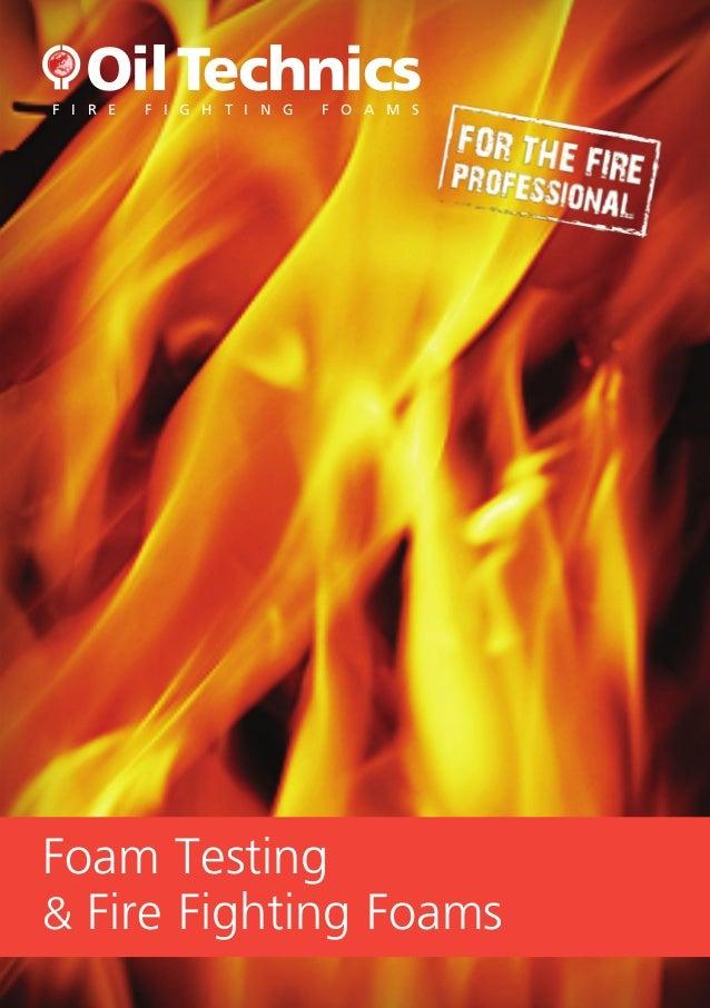 Oil Technics Ltd: Fire Fighting Foams