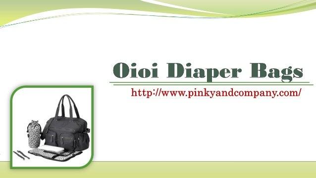 Oioi Diaper Bags