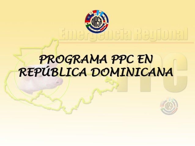 Programa de PPC en República Dominicana